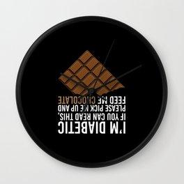 Diabetes Wall Clock