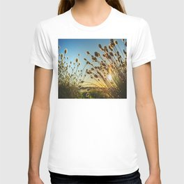 #Cotton #grass from the #high #moor #land T-shirt