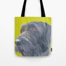 Pointer printed from an original painting by Jiri Bures Tote Bag