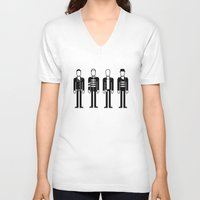 coldplay V-neck T-shirts featuring Coldplay by Band Land