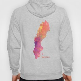 Sweden map #sweden #map Hoody