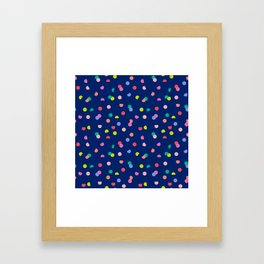 Colourpop Confetti Framed Art Print