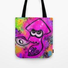I've Got an Inkling - Pink on Black Tote Bag
