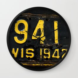 Vintage - Wis 941 Wall Clock
