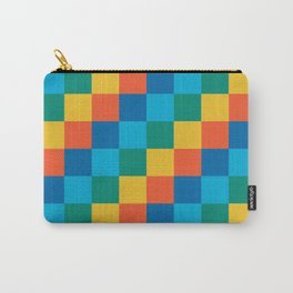 Color me happy - Pixelated Pattern in bright colors Carry-All Pouch