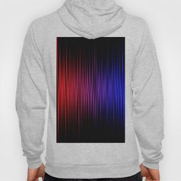 Colorful lines on black background Hoody