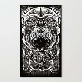 The Cultist Canvas Print