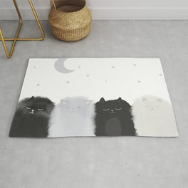 Sleep like Cats Rug