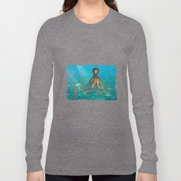 Octopus & The Diver Long Sleeve T-shirt