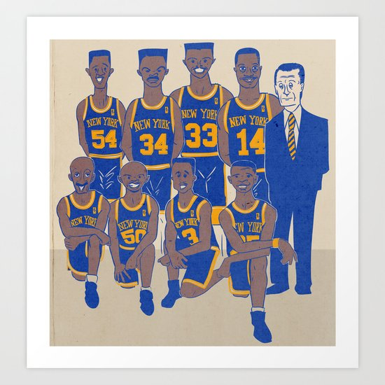 The '94 Knicks Art Print