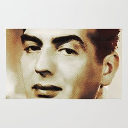 Victor Mature, Hollywood Legend Rug