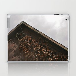 Camouflage - Red Leaves on Barn Laptop & iPad Skin