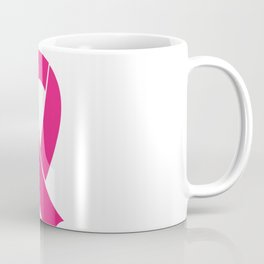 Cancer ribbon Coffee Mug