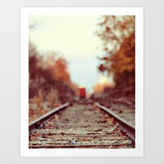 Train Song Art Print
