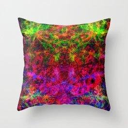 Star Squirt Blast Throw Pillow
