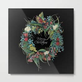 An Aussie Christmas BLACK Metal Print