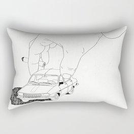 Driving home Rectangular Pillow