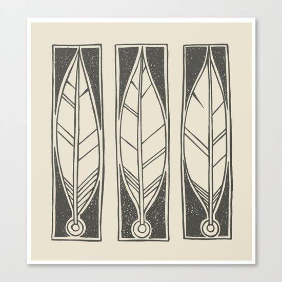 Ethnic Feathers Canvas Print