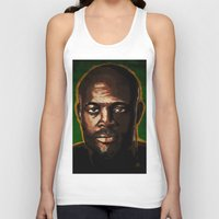 "wes anderson Tank Tops featuring Anderson ""The Spider"" Silva by Joe Borelli"