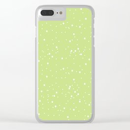 Funny dots Clear iPhone Case