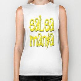 Salsa Mania es mi mania Biker Tank