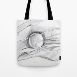 tennis -ball in the material Tote Bag
