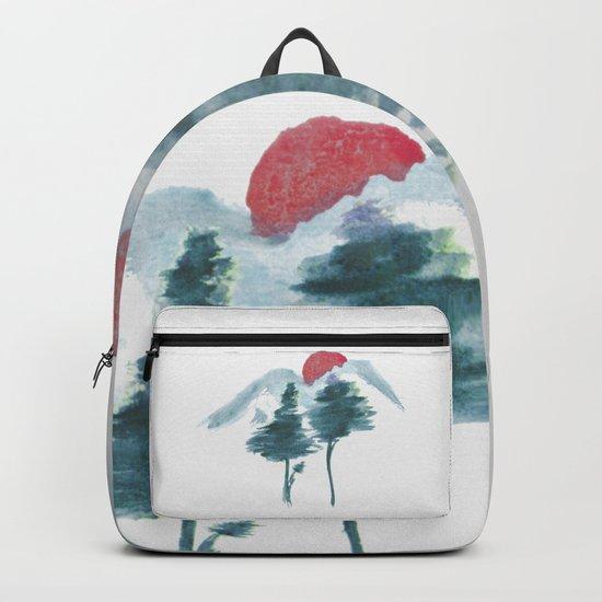 Japanese Alpine Sunset Backpack
