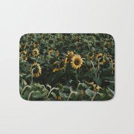 Sunflowers // Bath Mat