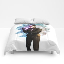 Space Dad Comforters