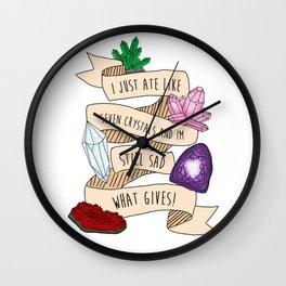 Self-care Wall Clock