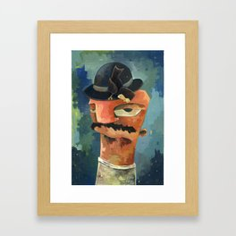 Sitting Pretty - New Acrylic Painting from Lewis Acrylics Framed Art Print