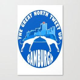Great North Tweet Up Canvas Print