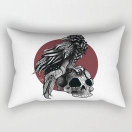 Crow crown Rectangular Pillow