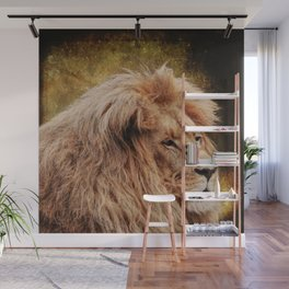 Wild Lion Carnivore Africa Wall Mural