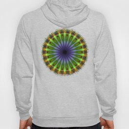 Mandala of happiness, fractal abstract Hoody