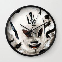 Lucha Libre-peaceman Wall Clock