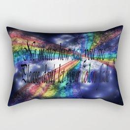 Never Fade Rectangular Pillow