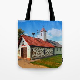Old traditional firehouse II   architectural photography Tote Bag