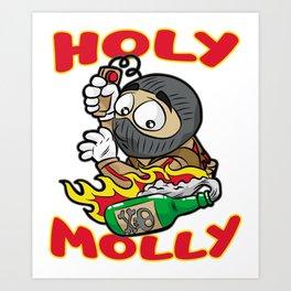 HOLY MOLLY TERRORIST Molotow Present Granade CS GO Art Print