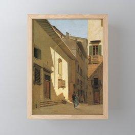 Santa Maria De Bardi 1870 By Telemaco Signorini   Reproduction   Italian Painter Framed Mini Art Print