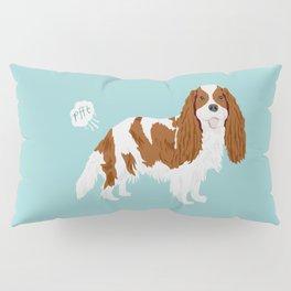 Cavalier King Charles Spaniel blenheim funny farting dog breed gifts Pillow Sham