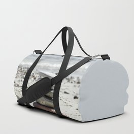 Balancing Stones On The Beach Duffle Bag