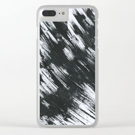 abstract graphics Clear iPhone Case