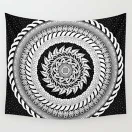 St Peters Night Sky Wall Tapestry