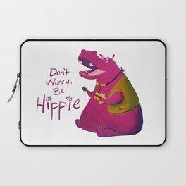 Hippie Hippo Laptop Sleeve