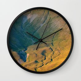 Over The Rills And Far Away Wall Clock