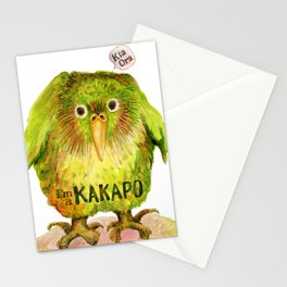I'm a KAKAPO Stationery Cards