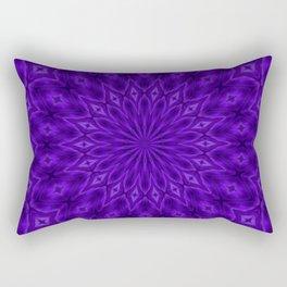 UltraViolet Enigma Pattern Rectangular Pillow