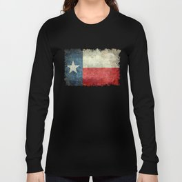 State flag of Texas, Lone Star Flag of the Lone Star State Long Sleeve T-shirt