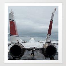 Tom Cat, Fighter Jet Art Print